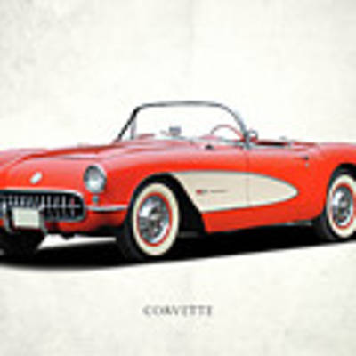 Chevrolet Corvette Art Print