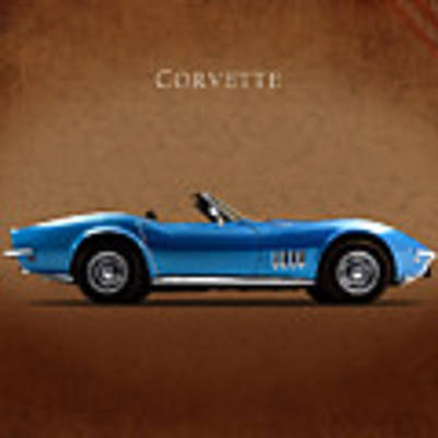 Chevrolet Corvette Stingray Art Print