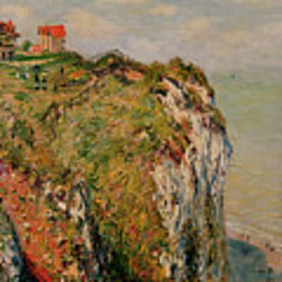 Cliff At Dieppe Art Print