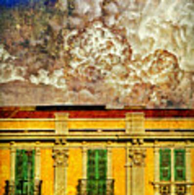 Cloud Like Whipped Cream Art Print by Silvia Ganora