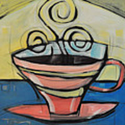 Coffee Cup Four Art Print