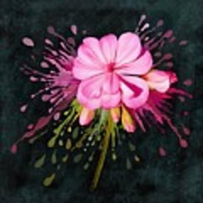 Color Eruption  Art Print by Ivana Westin