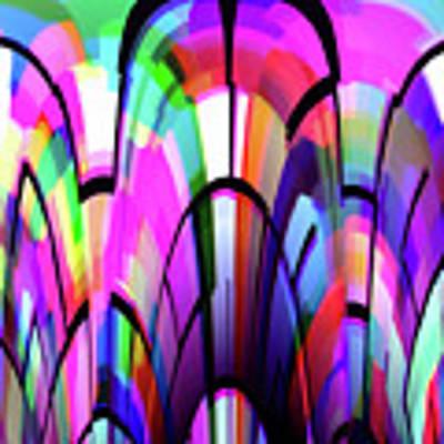 Color Gates Art Print by Mihaela Stancu
