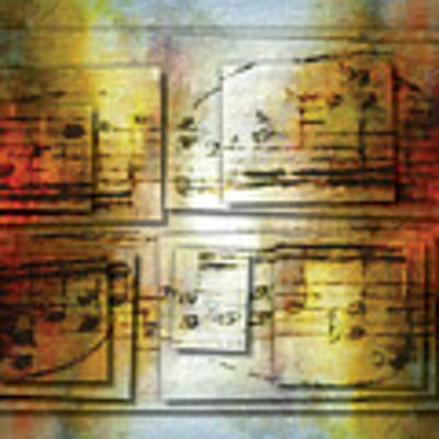 Corroded Cadence 2 Art Print by Lon Chaffin