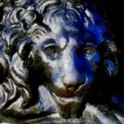 Cowardly Lion Art Print by RC DeWinter