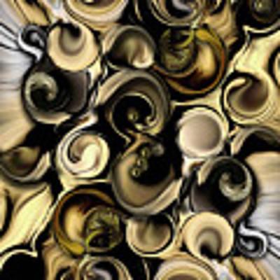 Dimension Vs Shape Art Print by Carmen Fine Art