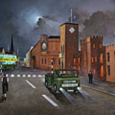Dudley, Capital Of The Black Country Art Print by Ken Wood