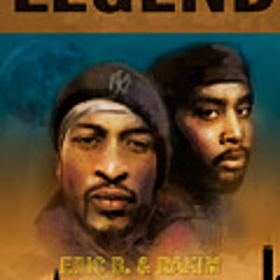 Eric B. And Rakim Art Print by Dwayne Glapion