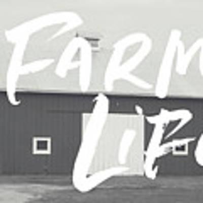 Farm Life Barn- Art By Linda Woods Art Print by Linda Woods