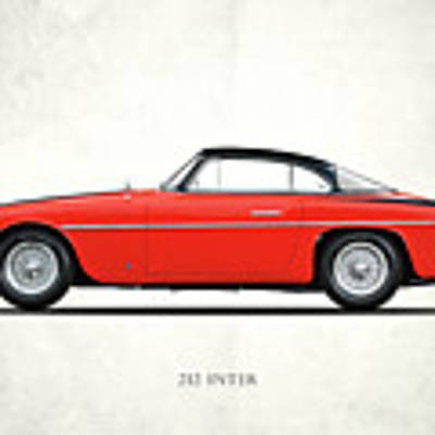 Ferrari 212 Inter Art Print