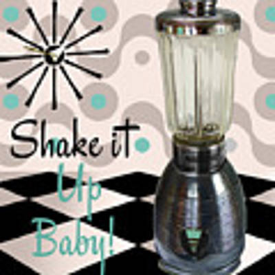 Fifties Kitchen Blender Original by Mindy Sommers