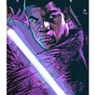 Finn Art Print by Antonio Romero