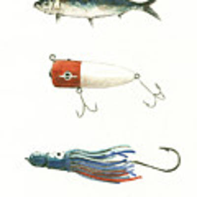 Fishing Lures Original by Juan Bosco