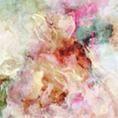 Floral Wings - Abstract Art Art Print by Jaison Cianelli