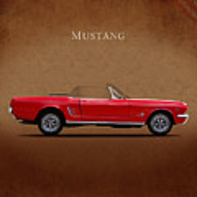 Ford Mustang 289 Art Print