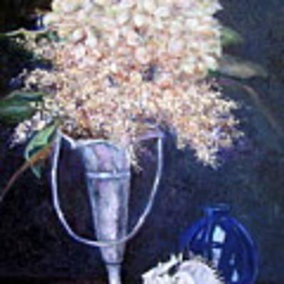Found Treasures Art Print by Jan Byington