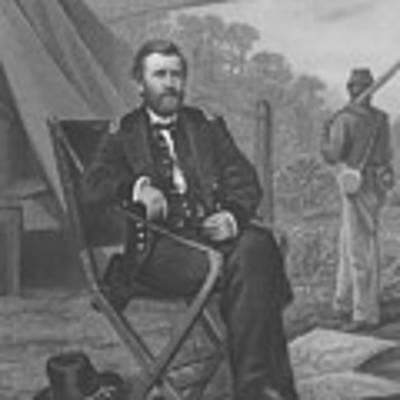 General U.s. Grant Art Print by War Is Hell Store