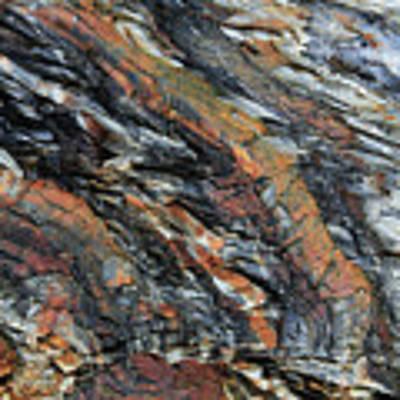 Geologica II Art Print by Julian Perry