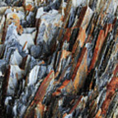 Geologica IIi Art Print by Julian Perry