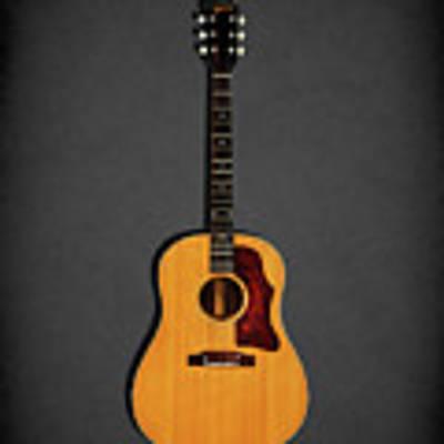 Gibson J-50 1967 Art Print