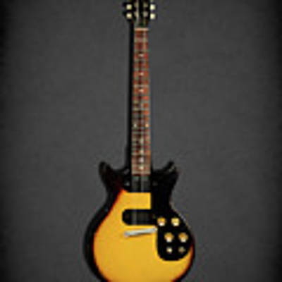 Gibson Melody Maker 1962 Art Print