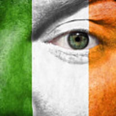 Go Ireland Art Print