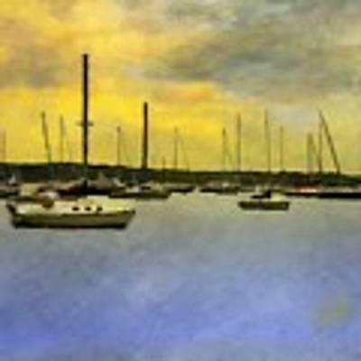 Goodnight, Nantucket Art Print by RC DeWinter