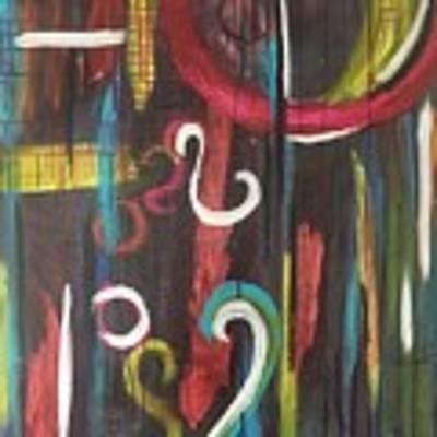 Heart And Soul Art Print by Rebecca Davidson