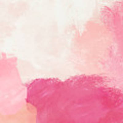 History Of Pink- Abstract Art By Linda Woods Art Print by Linda Woods