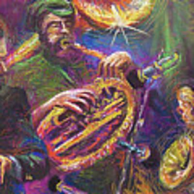 Jazz Jazzband Trio Art Print