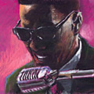 Jazz. Ray Charles.1. Art Print