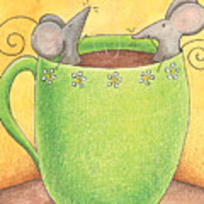 Join Me In A Cup Of Coffee Art Print