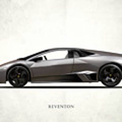 Lamborghini Reventon Art Print by Mark Rogan