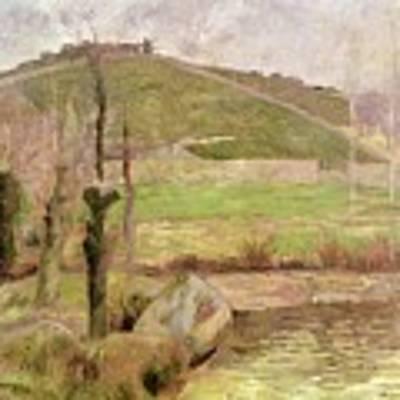 Landscape Near Pont Aven Art Print
