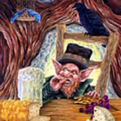 Leprechaun's Lair Original by Heather Calderon