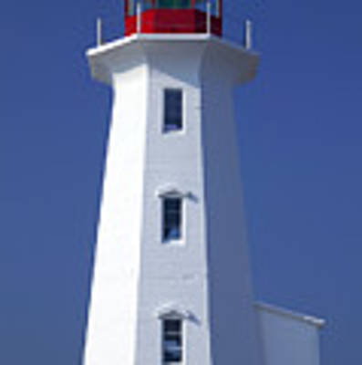 Lighthouse Peggy's Cove Art Print by Garry Gay