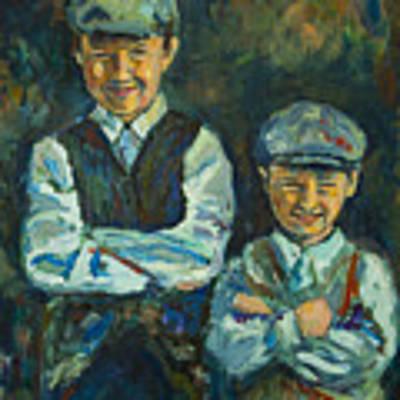Durham Boys Art Print by Angelique Bowman