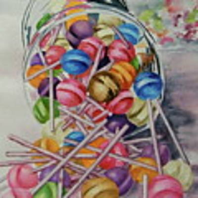 Lollypops Original by Terry Honstead