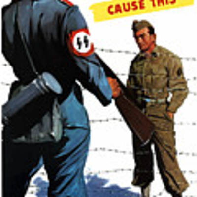 Loose Talk Can Cause -- Ww2 Propaganda Art Print