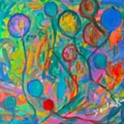 Lost Balloons Art Print by Kendall Kessler
