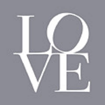 Love In Grey Art Print