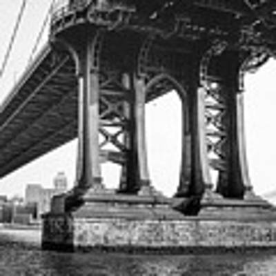 Manhattan Bridge, Afternoon Art Print by Gary Heller