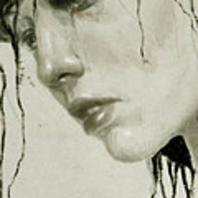 Melancholic Art Print by Diego Fernandez