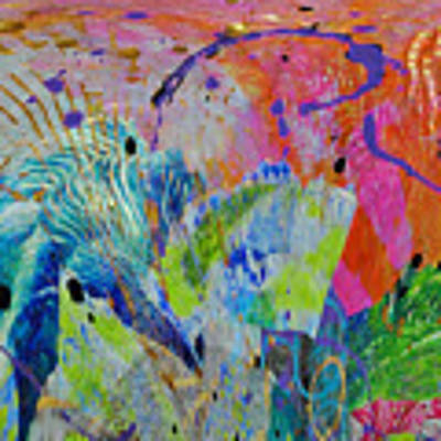 Moody Blues2 Art Print by Kate Word