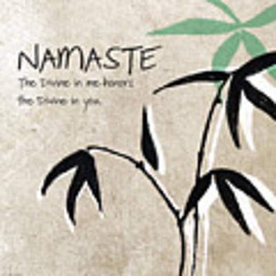 Namaste Art Print