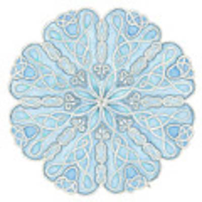Nautical Mandala Original by Stephanie Troxell