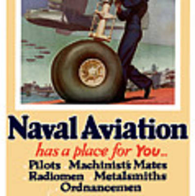 Naval Aviation Has A Place For You Art Print
