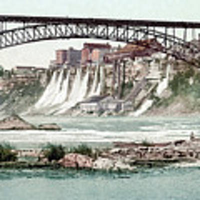 Niagara River, C1900.  Art Print by Granger