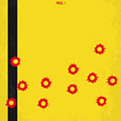 No048 My Kill Bill -part 1 Minimal Movie Poster Art Print by Chungkong Art