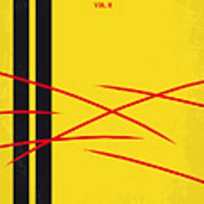No049 My Kill Bill-part2 Minimal Movie Poster Art Print by Chungkong Art